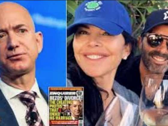 Jeff Bezos' Sexts Were Leaked By His Mistress' Brother
