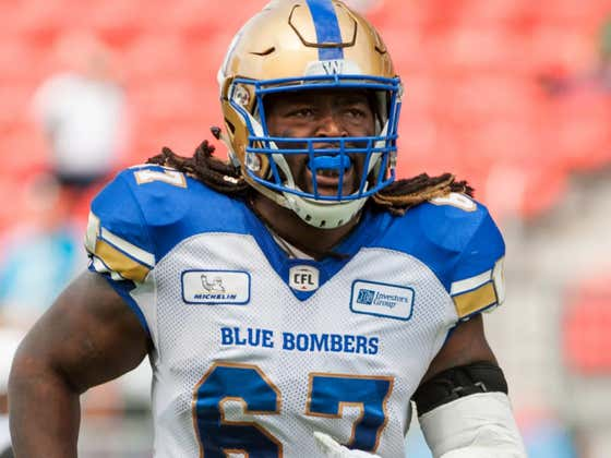 Congrats To Poop Johnson On Signing With The CFL's Toronto Argonauts