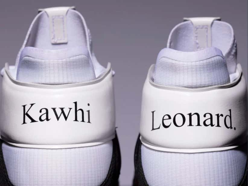 New Balance Unveils New Designs For Kawhi Leonard's All Star Game Sneakers...First Signature Shoe Ever With Times New Roman Font