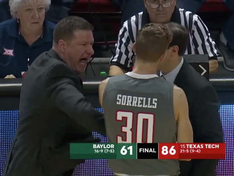 Texas Tech Walk-On Throws Down An Alley-Oop At The Buzzer And Is