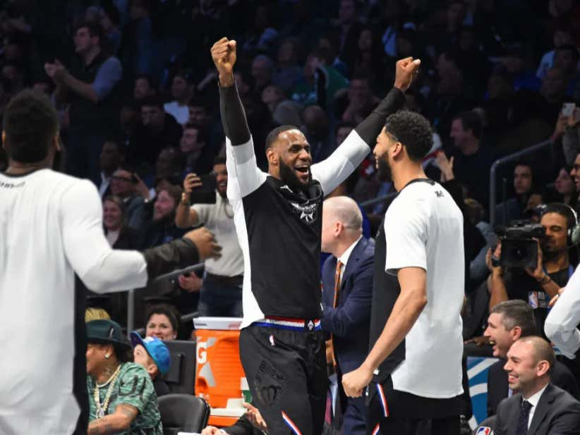 Team LeBron Wins The 2019 All Star Game