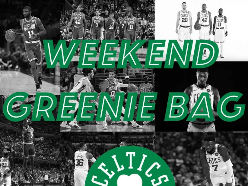 The Weekend Greenie Bag: Is Jayson Tatum The Next Kobe?