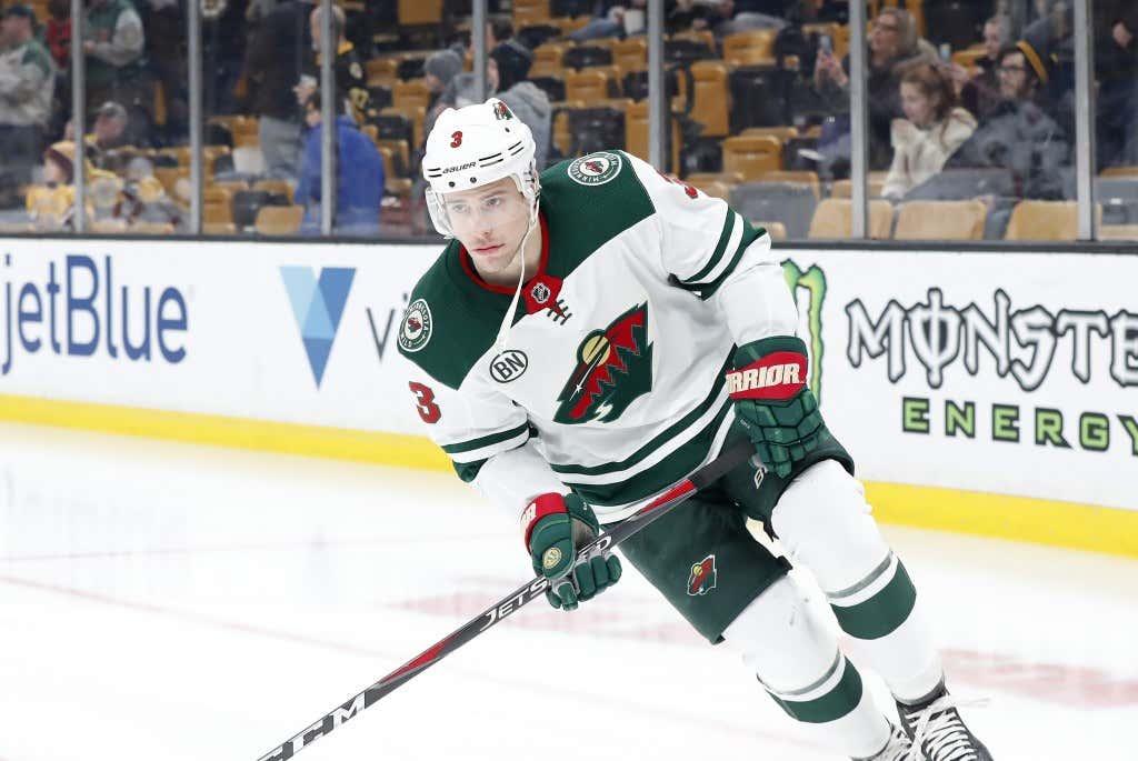 NHL: JAN 08 Wild at Bruins