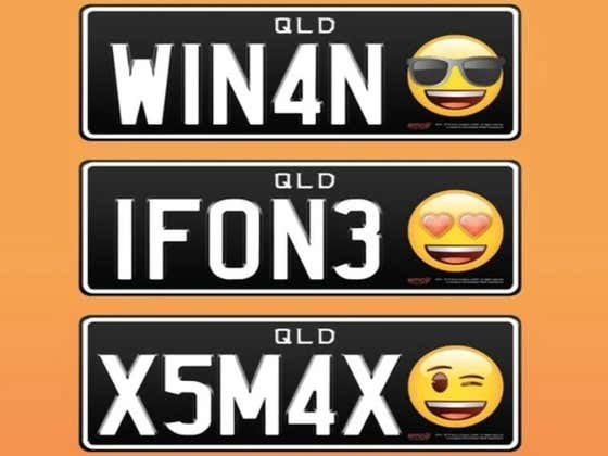 Emoji License Plates Are About To Become A Reality