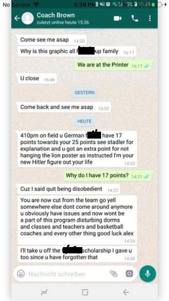 Coach Texts Courtesy KGGF NEWSRADIO_1550769234361.jpeg_35275423_ver1.0