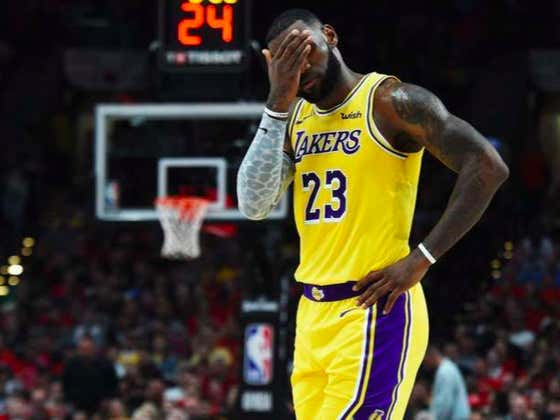LeBron Blames Was at It Again Last Night