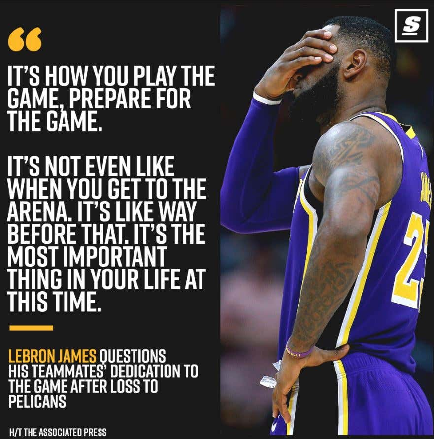 bf6b11c2979 Listen I m not one to go out of my way to criticize or nitpick every little  thing Lebron James does. But I do have to wonder how much his teammates  hate him ...