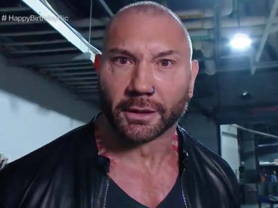 Batista Just Beat The Shit Outta Ric Flair (On His Birthday, No Less!) And Called Out Triple H