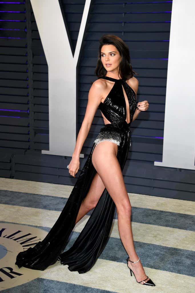 Kendall Jenner Wore The Sexiest Dress Of The Night And It -2945
