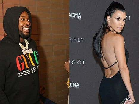 """Meek Mill Slid In Kourtney Kardashian's Instagram Comments and I Think He Officially Just Brought """"Phat"""" Back"""