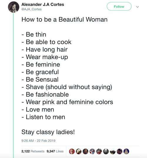 mans-how-to-be-a-beautiful-woman-list