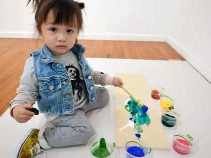 2-Year-Old's Paintings are Selling for Thousands Because Modern Art Sucks