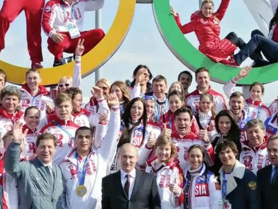 Russia Bans Drinking Beer At Doping Events Because That's Definitely What Caused Them To Test Positive For Steroids During The Olympics