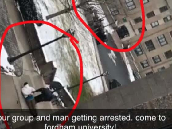College Tour Interrupted By NYPD Arresting Criminal On Run Outside Freshman Dorm