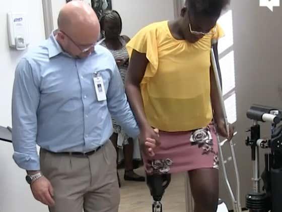 Feel Good Friday: High Schoolers Raise Money To Buy A Fellow Student A Prosthetic Leg