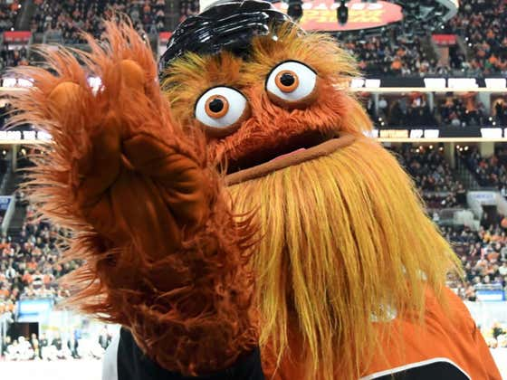 Gritty Calls Out Lame-O WWE Wrestler After Attack On Philly Moms