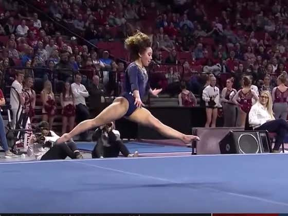 UCLA Viral Gymnast Is Back With Another Perfect Routine That Just Might Be Better Than Her First