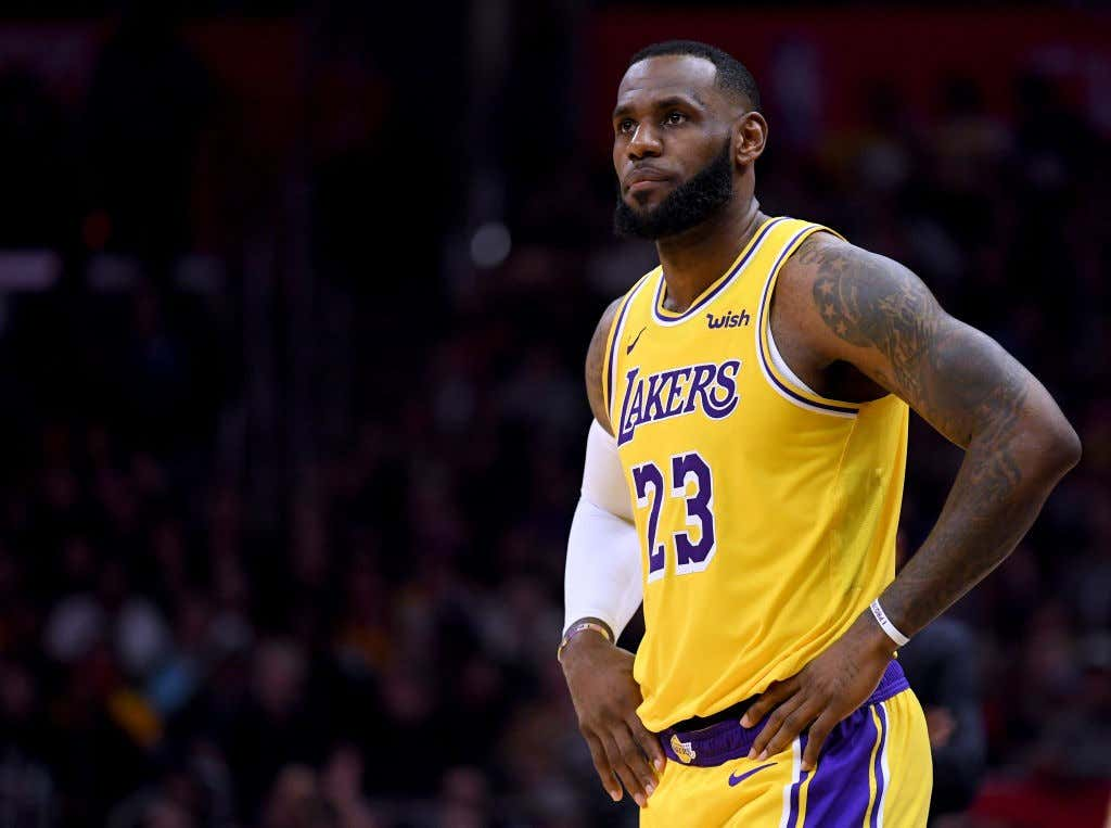 LeBron s  Playoff Mode  Is Officially Deactivated - Barstool Sports 31c9ff6912d3