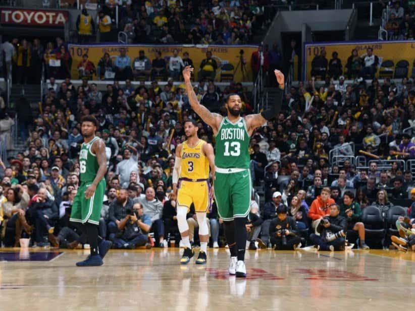 a60a4807978 The Celtics West Coast Revenge Tour Rolls On