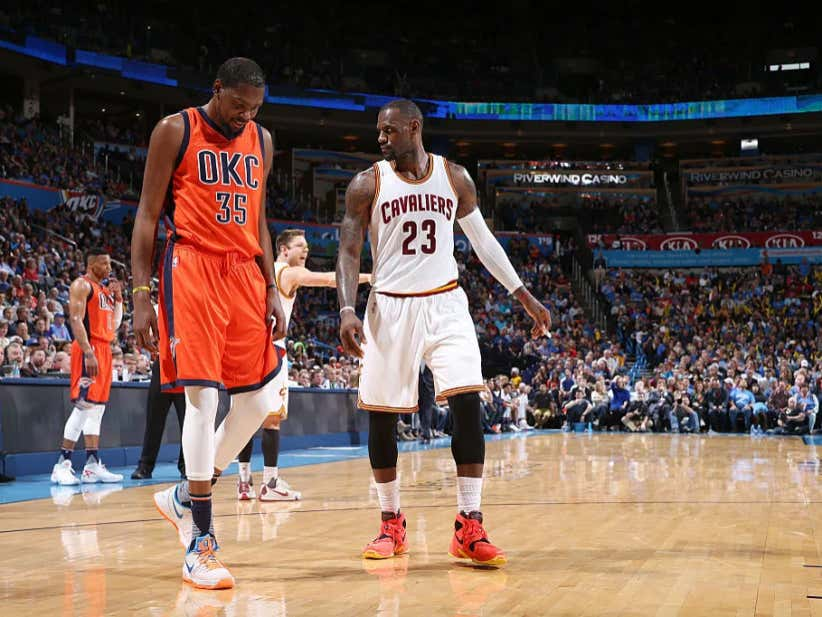 """567742cd19c This LeBron Kevin Durant """"What If"""" Is Crazy To Think About - Barstool Sports"""