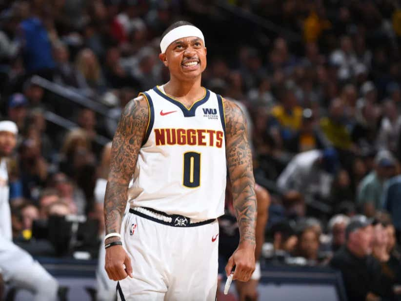 e53050d6e3d Damn, The Isaiah Thomas Experiment In Denver Appears To Be Over - Barstool  Sports