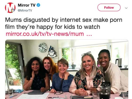 Moms Make Porn Together They'd Be Happy For Their Children To Watch
