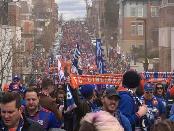 There's No Way The Scene From FC Cincinnati's 1st Ever MLS Home Game Is Real
