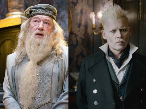 J.K. Rowling Is Getting Roasted For Saying Dumbledore Used To Hook Up With The Wizard Who Looks Like Adam Lambert