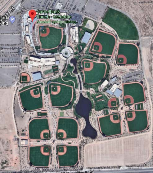 Eloy Jimenez Is On The Backfields Shattering Windshields ... on petco park map, echo canyon camelback mountain az map, peoria sports complex map, goodyear ballpark map,