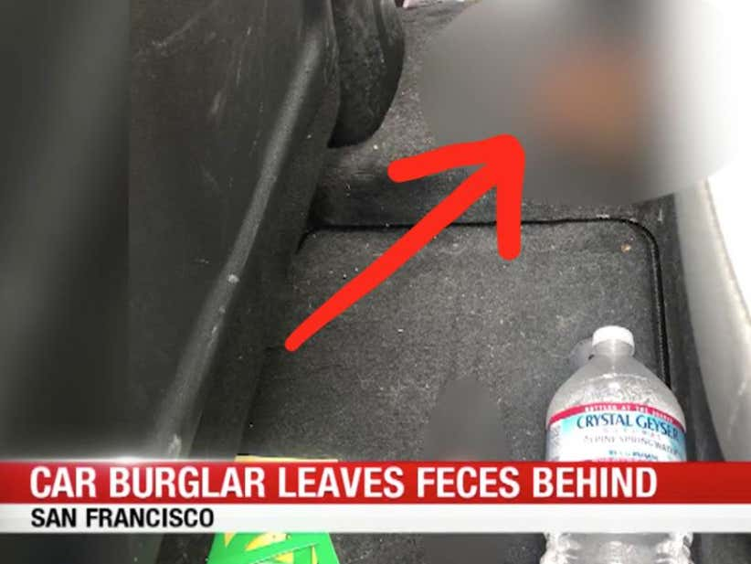 Poop In The Coupé: Car Burglars Are Upping Their Game In San Francisco