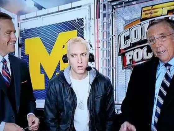 Marshall Mathers (aka Eminem) Has A Brilliant Idea To Take The AAF To The MOON