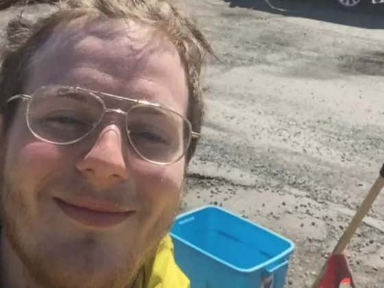 A Random Canada Man Is Filling Potholes In Exchange For Weed, Coffee, Or Cash