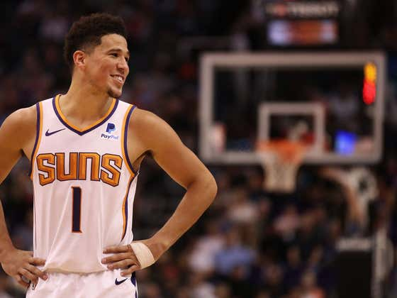 Devin Booker Says He's Seen A Bunch Of Guys In The NBA Shit Themselves During A Game