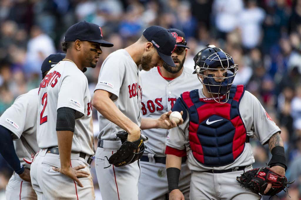 3b9d51dea Boston Red Sox v. Seattle Mariners. No defending World Series champion has  ...