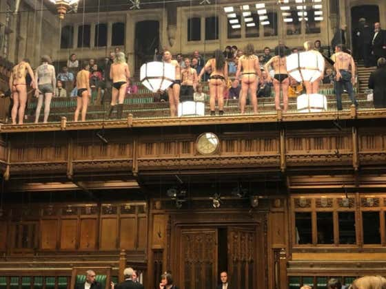 Some English Lasses Brixited Their Knickers In The House Of Commons