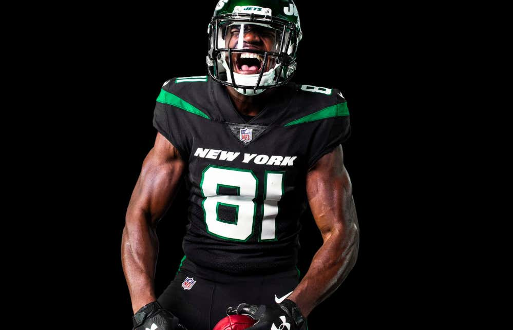 80b6c0631c4 The New Jets Uniforms Have Arrived And They Are... The Same Ones ...