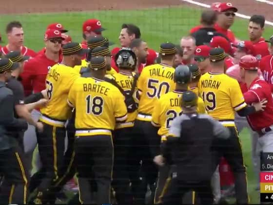Benches Clear In Pittsburgh After Chris Archer Throws At Derek Dietrich For Pimping A Homer Off Him