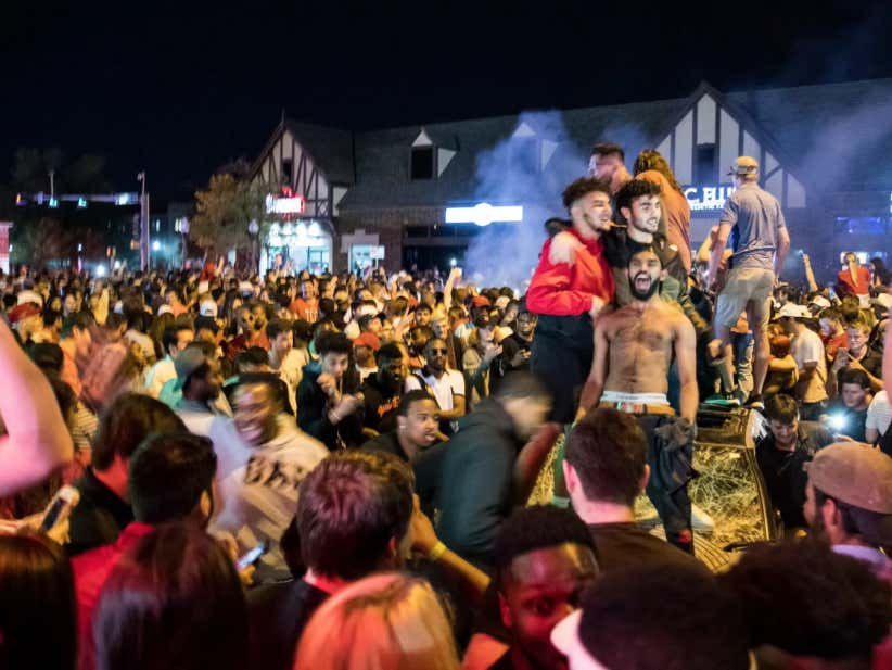 Just Your Standard Texas Tech Final Four Riots Highlighted ...