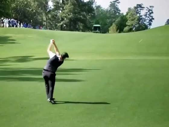 Jon Rahm Just Hit The Most Absurd Shank In Masters™ History