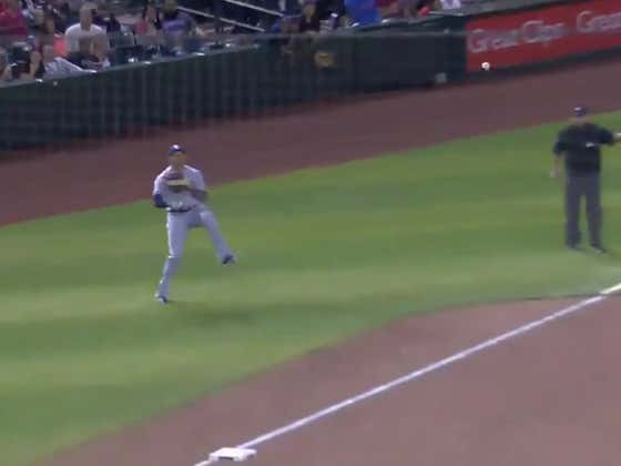 Manny Machado Just Made One Of The Best Defensive Plays You Will Ever See On a Baseball Field