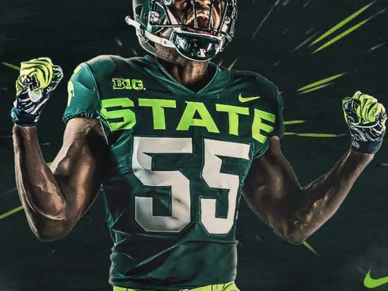Michigan State Reveals Alternate Uniforms That Look Like A Mountain Dew Can