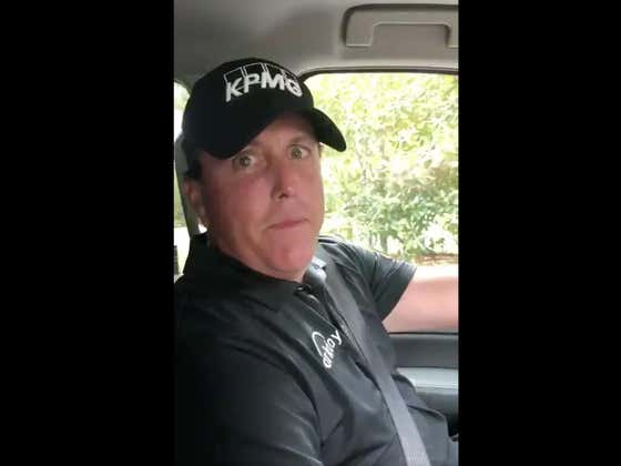 Phil Mickelson Firing Shots At Lousy Tipper Matt Kuchar As He Drives Up Magnolia Lane Is Simply Incredible