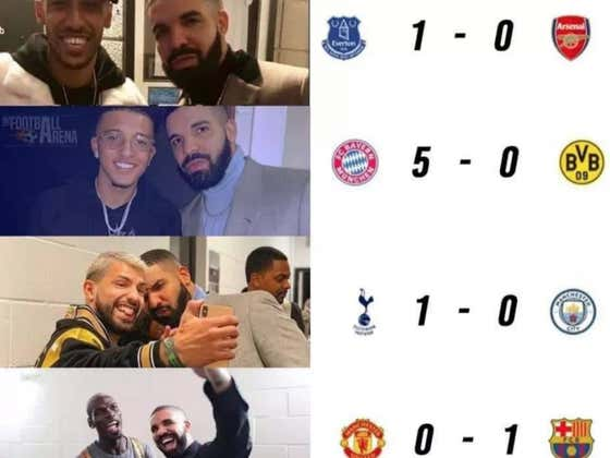 Roma Bans All Their Players From Taking Pictures With Drake After Dangerous Drake Curse Effects Soccer World