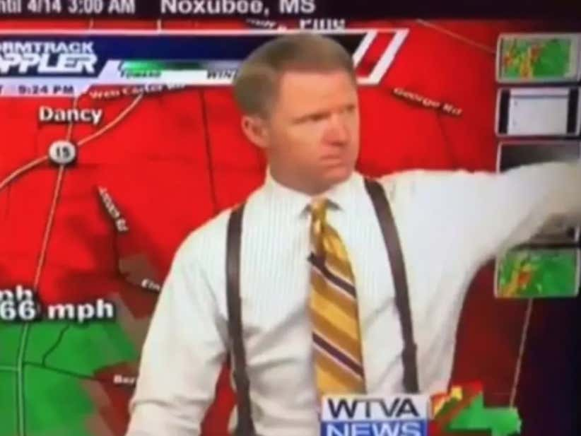 Mississippi Weather Man Berates His Radar Guy On Live TV During a