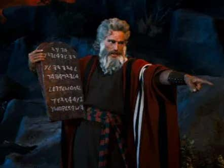 Casual Easter Dinner Conversation: Moses Was Probably High As FUCK When He Wrote The 10 Commandments