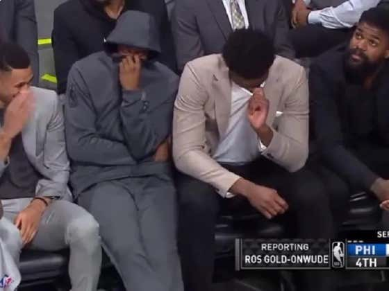 So Who Actually Ripped Ass On The Sixers Bench Last Night? An Investigative Report: