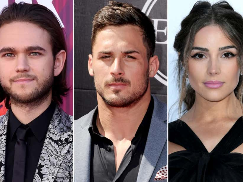 There's a Wild Love Triangle Going On Between Olivia Culpo, Danny