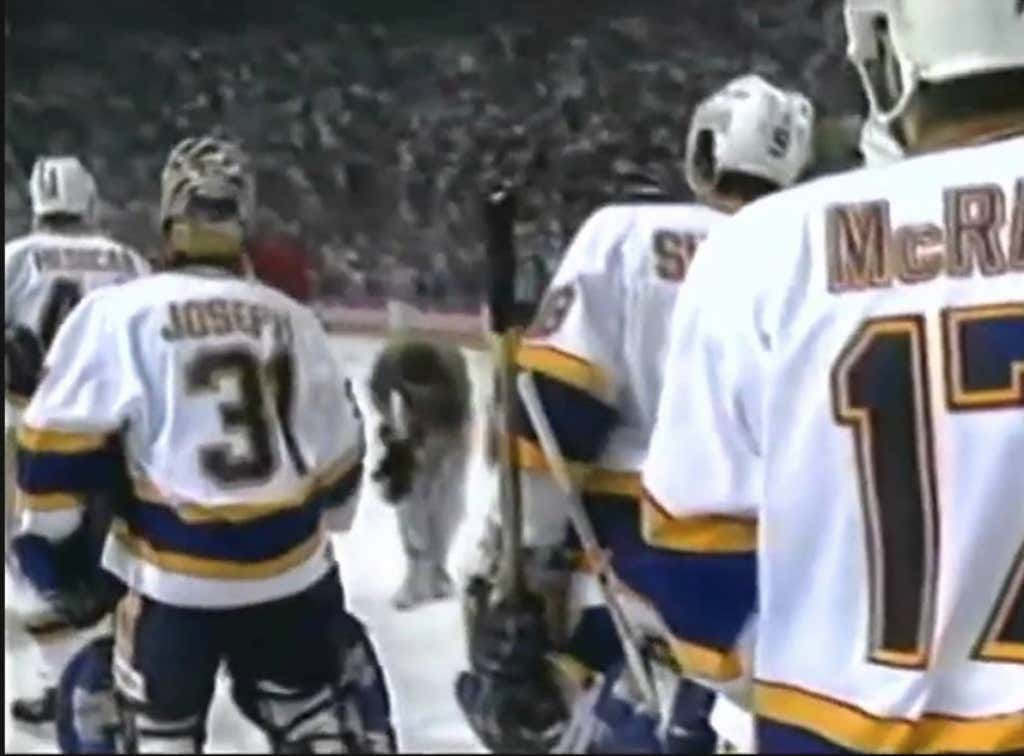 Gameday Throwback To Ed Belfour S Meltdown After The Blues