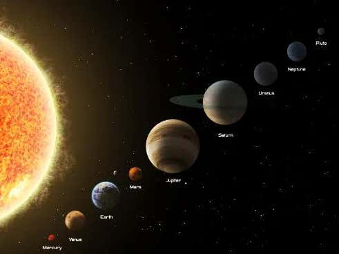 Pre-Draft Scouting Of The Planets In The Solar System