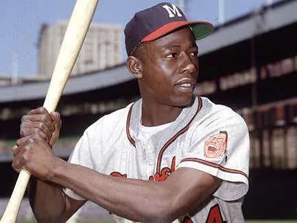 On This Date in Sports April 23, 1954: Hank Aaron's First